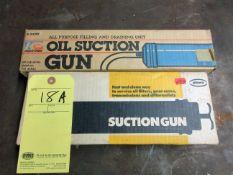 LOT OF SUCTION GUNS (2)