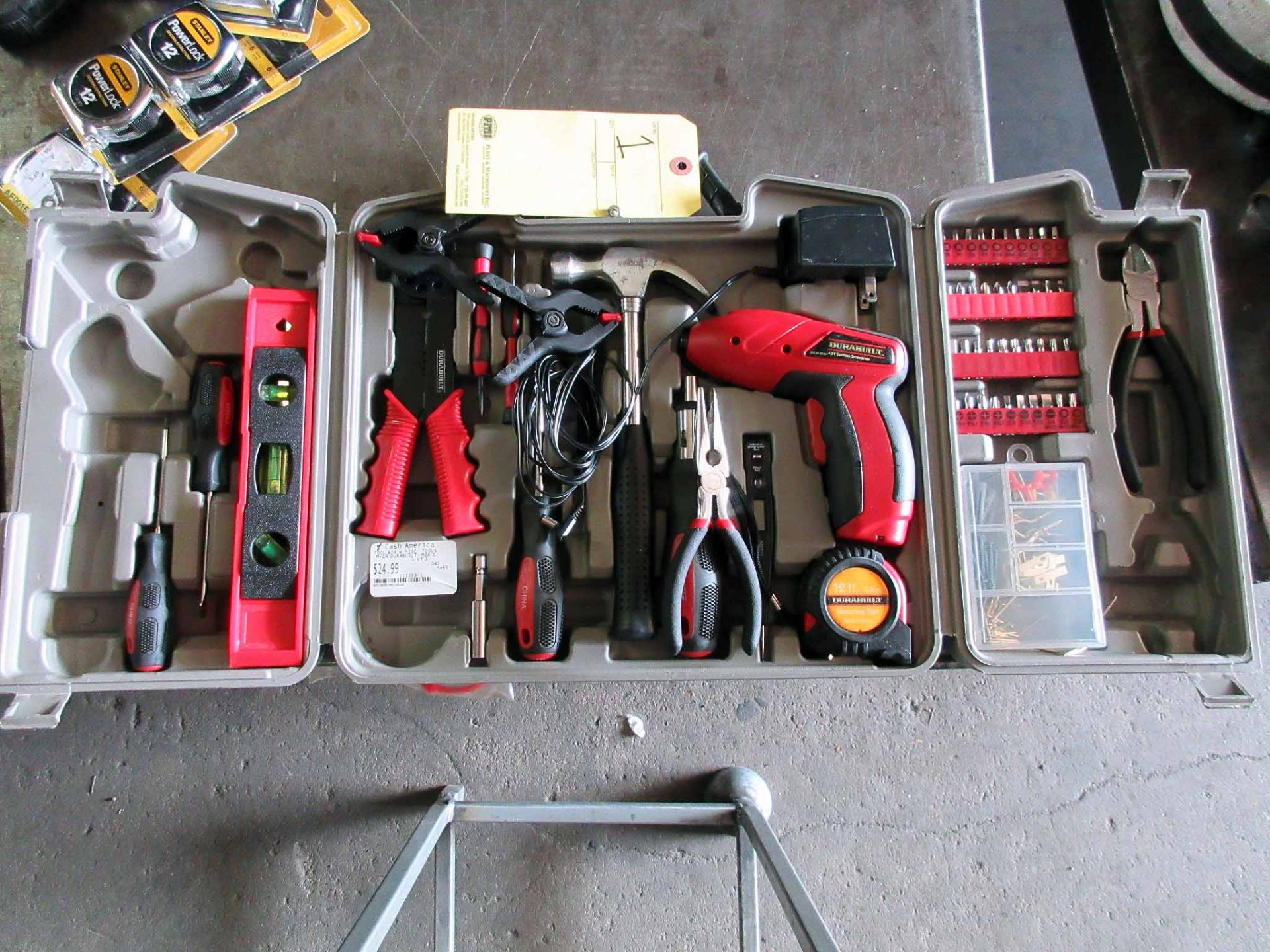 Lot 1 - LOT CONSISTING OF: (161 pc.) tool set & (32 pc.) screwdriver set (new in box)