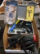 LOT CONSISTING OF: soldering gun & heat gun