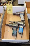 LOT OF PNEUMATIC NUT DRIVERS