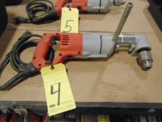 RIGHT ANGLE DRILL, MILWAUKEE ½""
