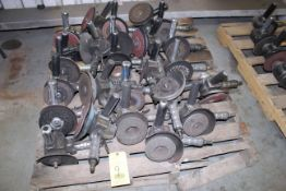 LOT OF PNEUMATIC ANGLE GRINDERS (Ft. Worth, TX)