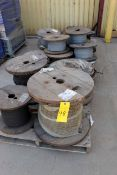 LOT OF WIRE CABLE, new (Ft. Worth, TX)