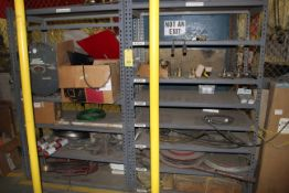 LOT OF SHOP EQUIPMENT, misc. (on two shelves) (Ft. Worth, TX)