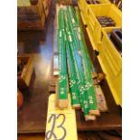 LOT OF RAW MATERIAL: Cincinnati Steel Type D-2 hardened steel
