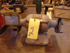 """DOUBLE END BENCH GRINDER, 6"""""""