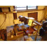 "ENDMILL SHARPENER, CHEVALIER, air bearing grinding fixture, 1/16"" to 1-1/2"" cap., S/N I5832002"