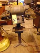 """TOOL GRINDER, CENTRAL MACHINERY 6"""", 1/2 HP motor"""