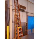 LOT OF LADDERS (3), assorted