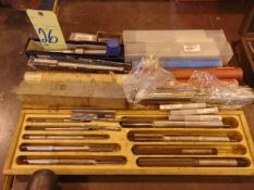 LOT OF REAMERS, assorted