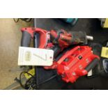 HAND DRILL, MILWAUKEE SAWZ-ALL, battery operated set (Pasadena)