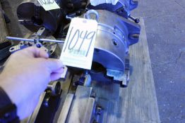 """ROTARY INDEXER, 8"""" dia. 3-jaw, 2-1/2"""" hole, tailstock"""