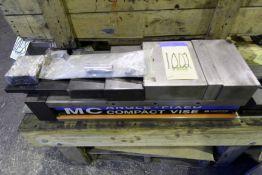 """MACHINE VISE, HOMGE MDL. HPAC-200, 8"""" x 14"""" cap."""