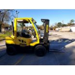 "DIESEL FORKLIFT, HYSTER 8,000 LB. BASE CAP. MDL. H80FT, new 2015, 83"" 2-stage mast, 120"" max. lift"