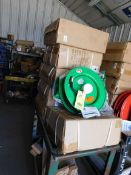 LOT OF HOSE REELS (7), Speedaire & Global (new in box)