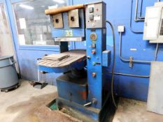 HYDRAULIC PRESS, PHI 70 T. CAP. MDL. S70-253C-Y3, 1-1/2 HP press motor