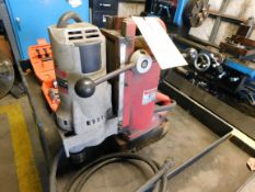 MAGNETIC DRILL PRESS, MILWAUKEE 3/4""
