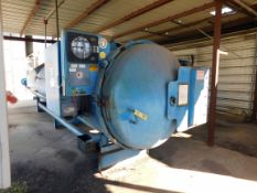"""AUTOCLAVE, HERCULES INDUSTRIES MDL. 1523C, 48"""" I.D. x 21', 100 PSI @ 450 deg., electric fired,"""