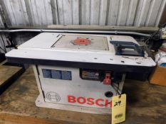 ROUTER TABLE, BOSCH MDL. RA1171