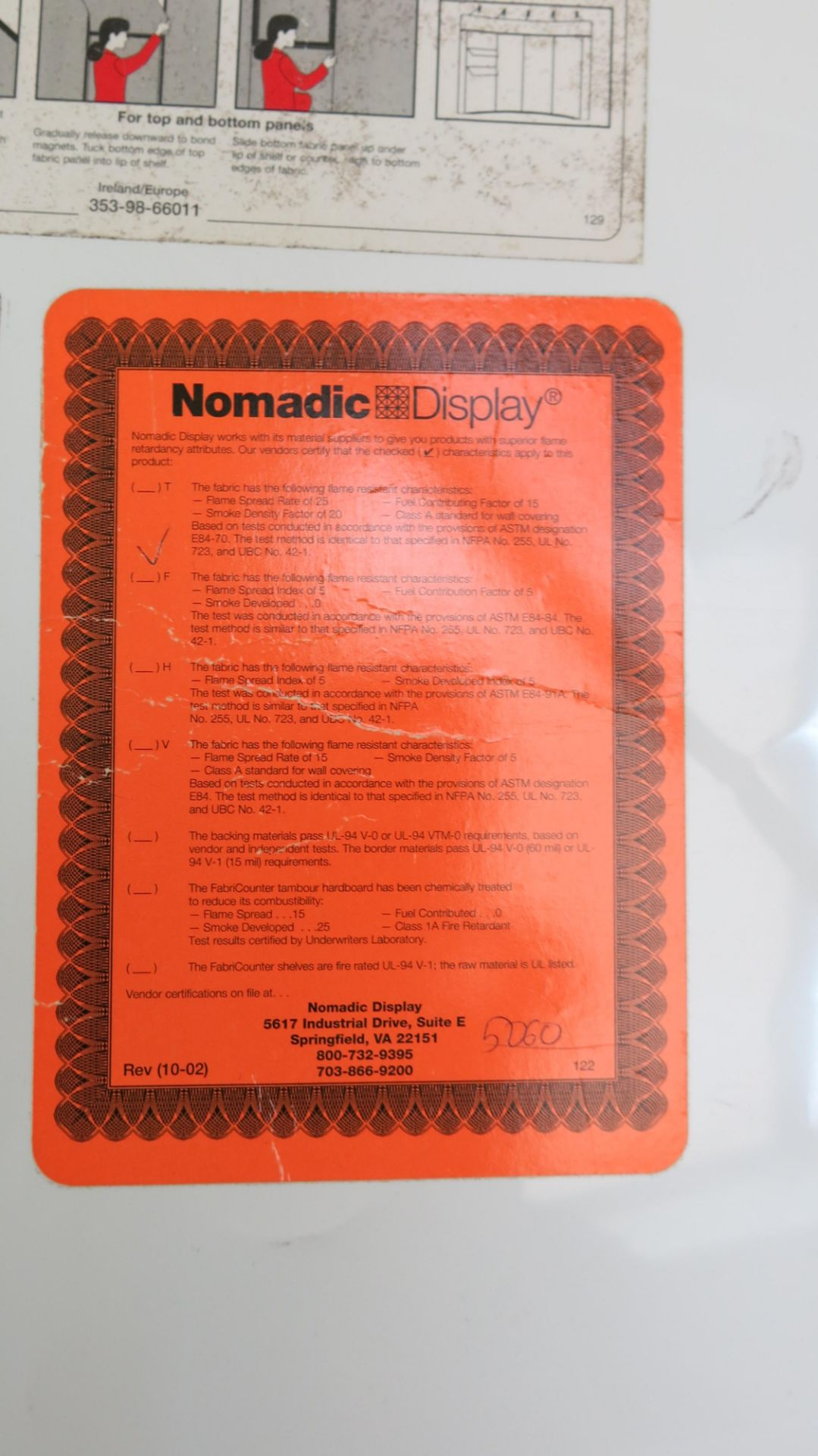 Lot 495 - NOMADIC TRADE SHOW BOOTH