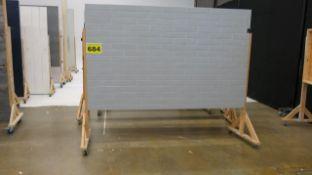 STUDIO BACKDROP ON CASTERS
