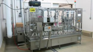 LINAPACK, LFS-1000 MINI, STAINLESS STEEL, STAND-UP POUCH, FILL AND SEAL MACHINE, POUCH INFEED