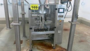 JDA, REDEEPAC 520, VERTICAL FORM FILL AND SEAL MACHINE (RIGGING $150)