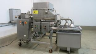 "POLAR PROCESS, SUNNY CRUNCH, STAINLESS STEEL, 7.5 HP, FOUR SCREW, TWO HEAD, EXTRUDER, 32"" X 29"" X"