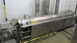 "STEIN, FD-42S, CONTINUOUS GAS FRYER, BELT WIDTH (36""), FRYING LENGTH (180""), FRYER AREA (42"" FT SQ),"