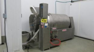 INJECT STAR, MAG-1500, STAINLESS STEEL, 1,500 LITRES, VACUUM TUMBLER, S/N 343, 2007 (RIGGING $575)