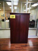 TWO DOOR, STORAGE CABINET