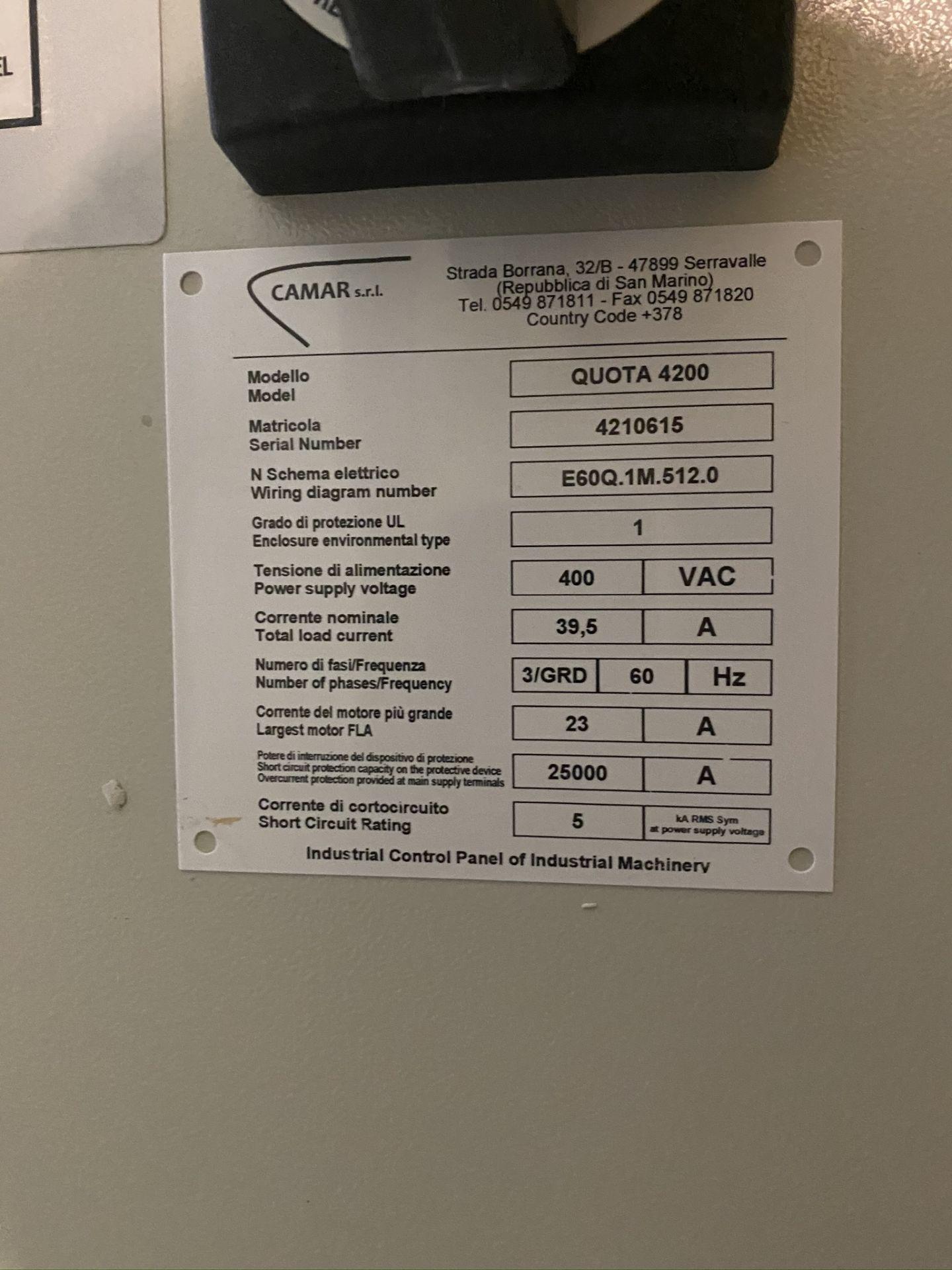Lot 227 - DENVER, QUOTE 4200, CNC STONE MACHINING CENTRE, S/N 4210615