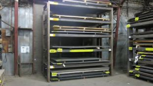 STORAGE RACK, 12' X 6' X 12' (CONTENTS NOT INCLUDED) (LATE DELIVERY)