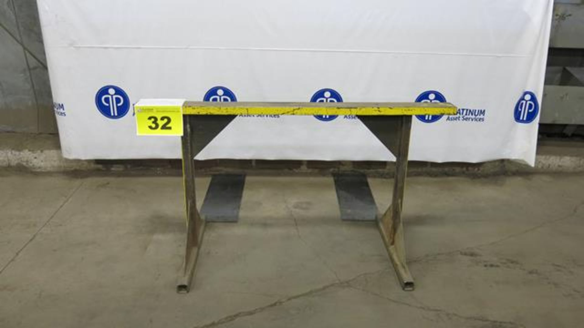 "Lot 32 - STEEL, MATERIAL SUPPORT FRAME, 32"" X 60"""