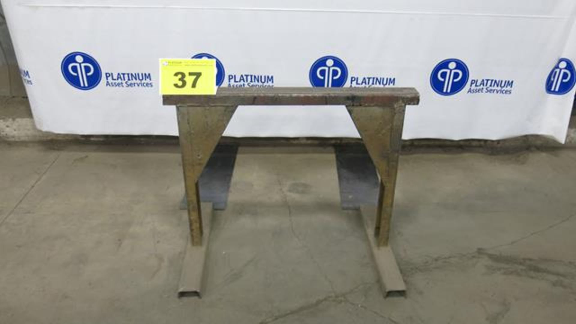 """Lot 37 - STEEL, MATERIAL SUPPORT FRAME, 32"""" X 40"""""""