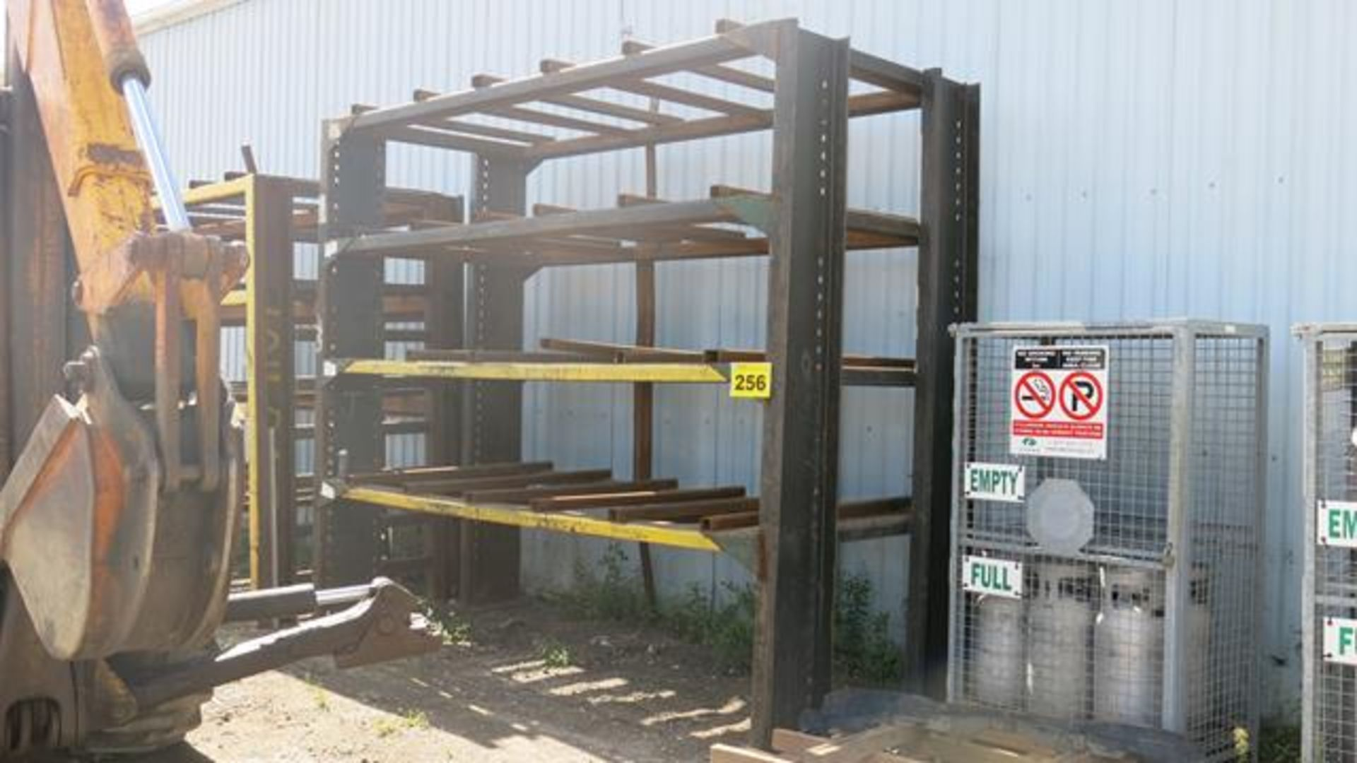 STORAGE RACK, 12' X 6' X 12' (CONTENTS NOT INCLUDED)