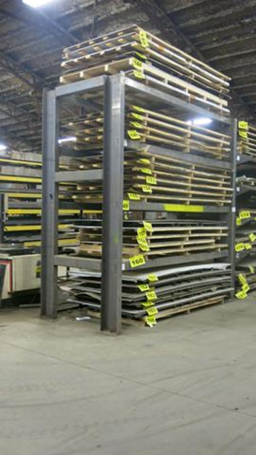 STORAGE RACK, 12' X 12' X 5.5', 18,000 LBS. CAPACITY (CONTENTS NOT INCLUDED) (LATE DELIVERY)