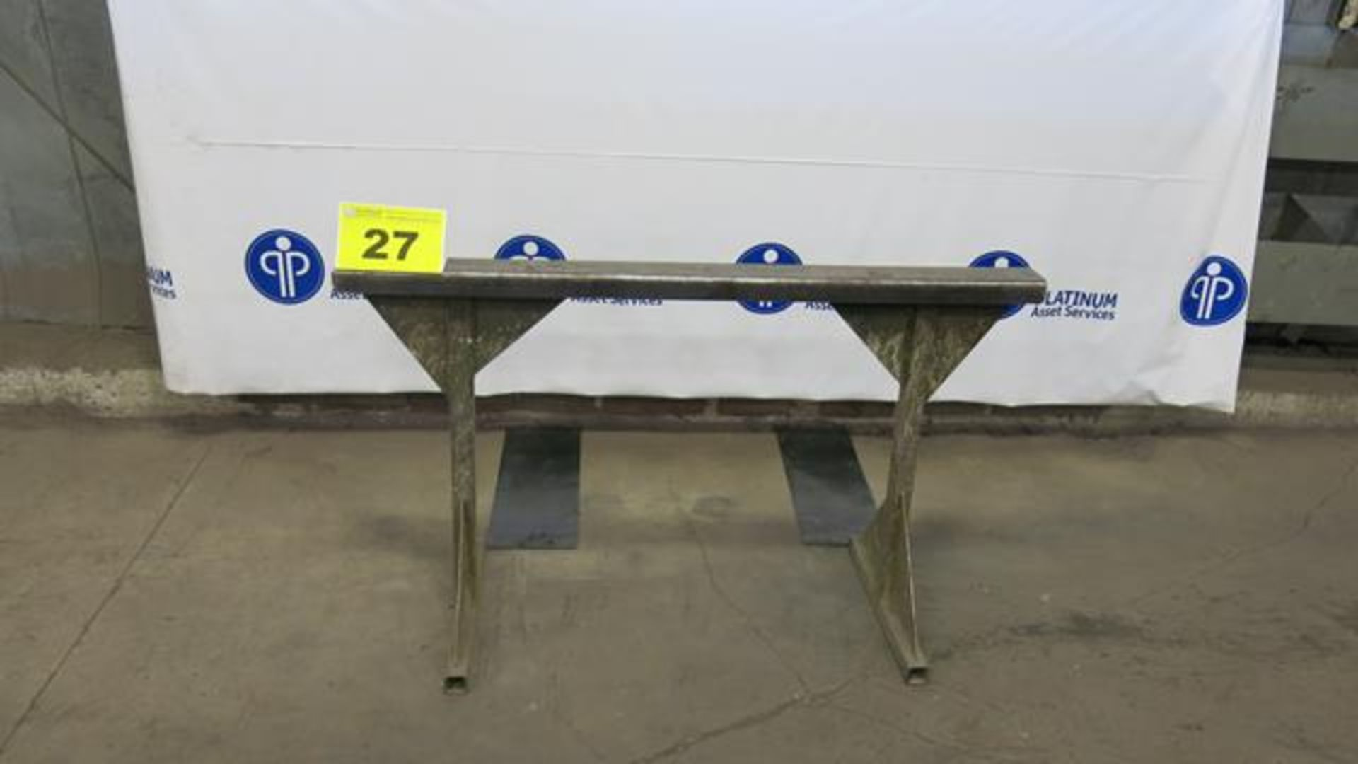 """Lot 27 - STEEL, MATERIAL SUPPORT FRAME, 36"""" X 60"""""""