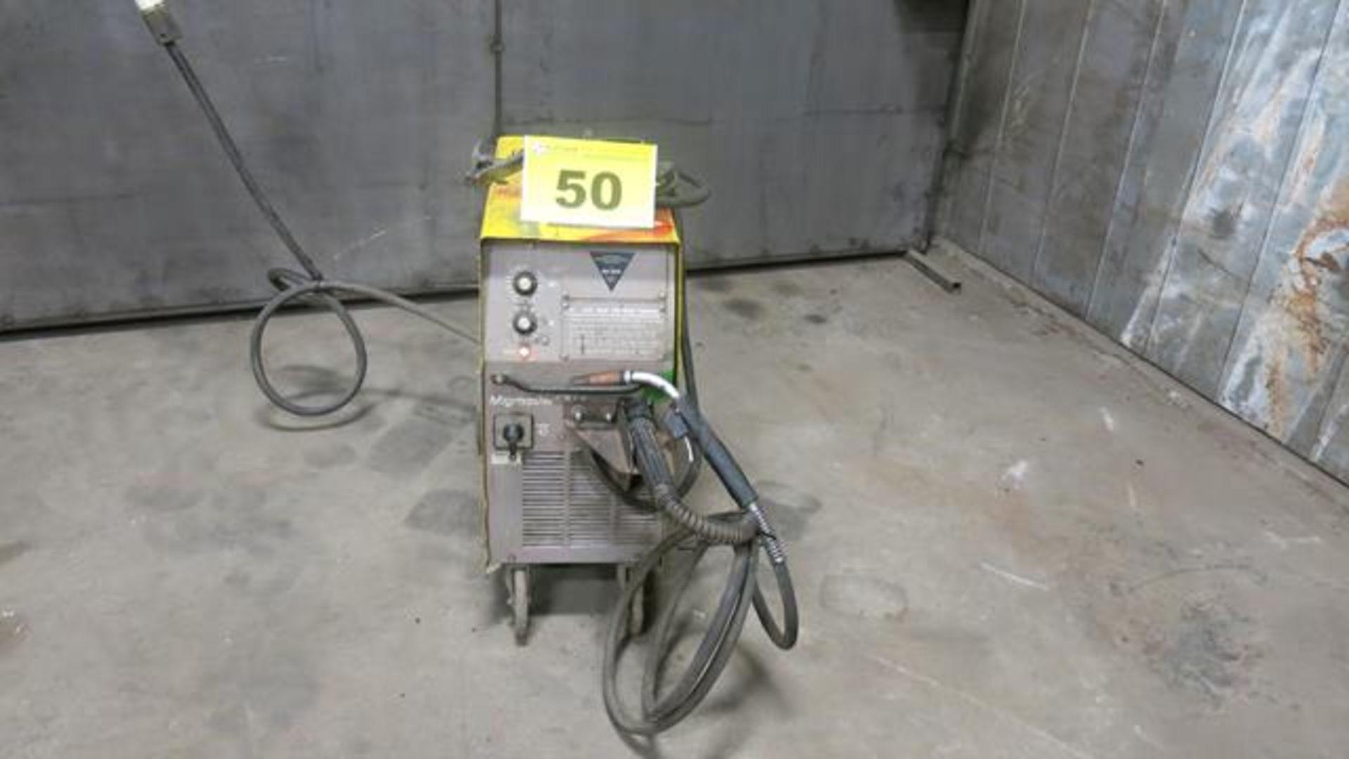 Lot 50 - ESAB, MIGMASTER 254, 300 AMP, MIG WELDER