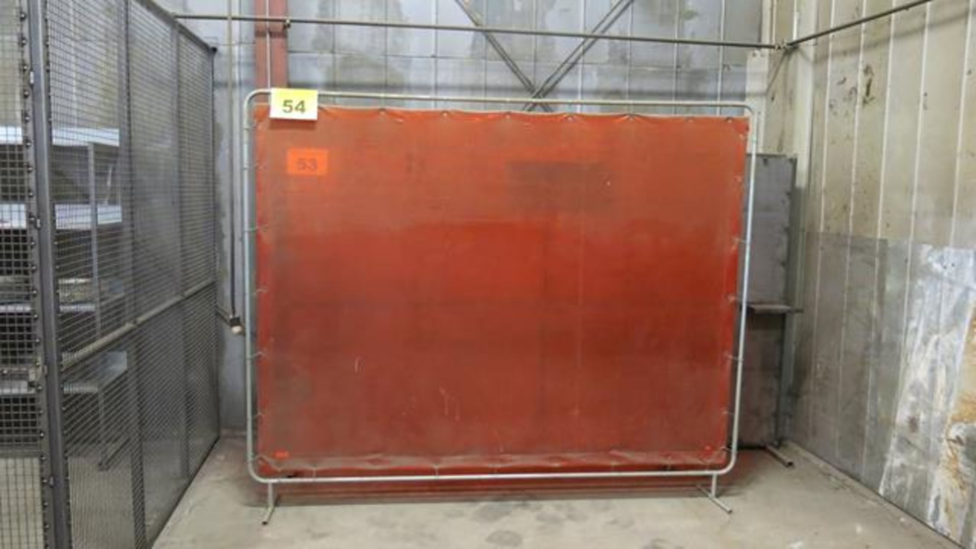 Lot 54 - WELDING SCREEN