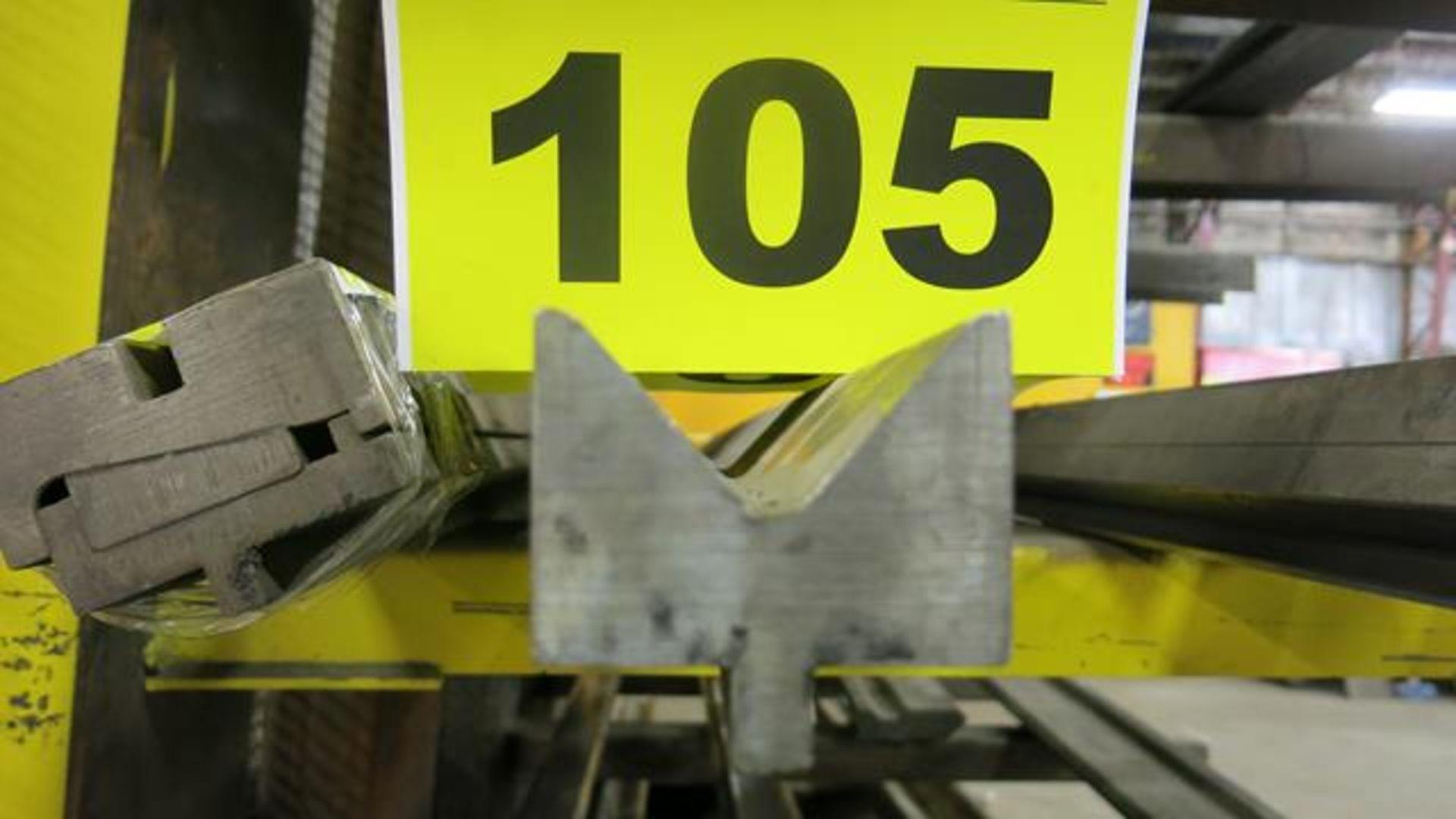 Lot 105 - LOWER BRAKE DIE, 12'