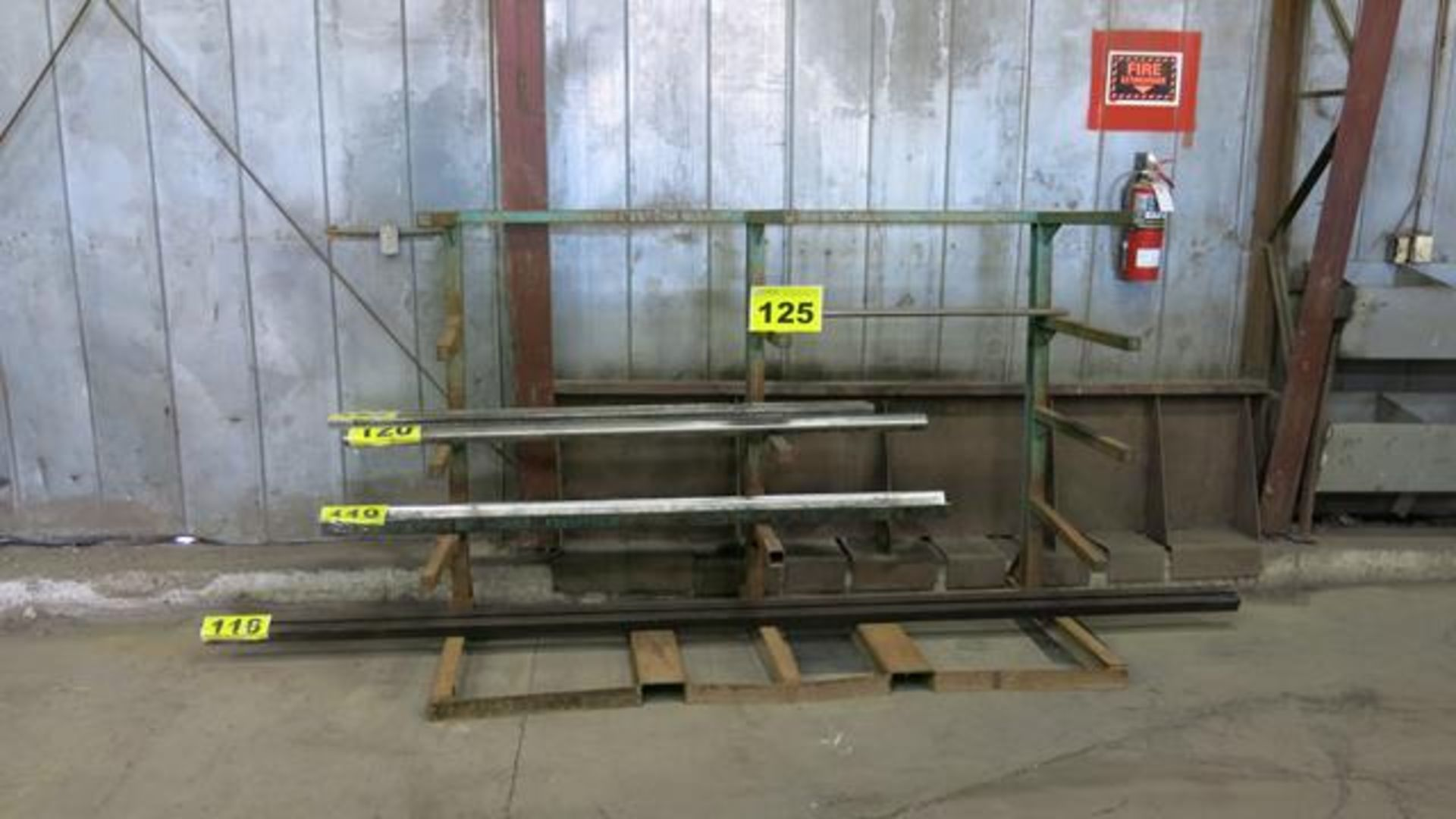 STEEL, STORAGE RACK, 8' X 4' X 4' (RACK ONLY) (LATE DELIVERY)