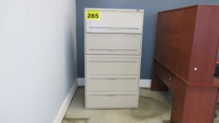 FIVE DRAWER LATERAL FILING CABINET