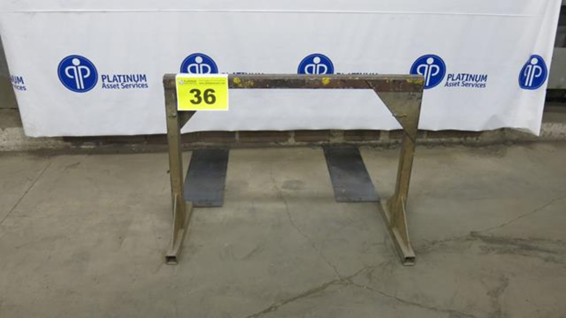 """Lot 36 - STEEL, MATERIAL SUPPORT FRAME, 32"""" X 44"""""""
