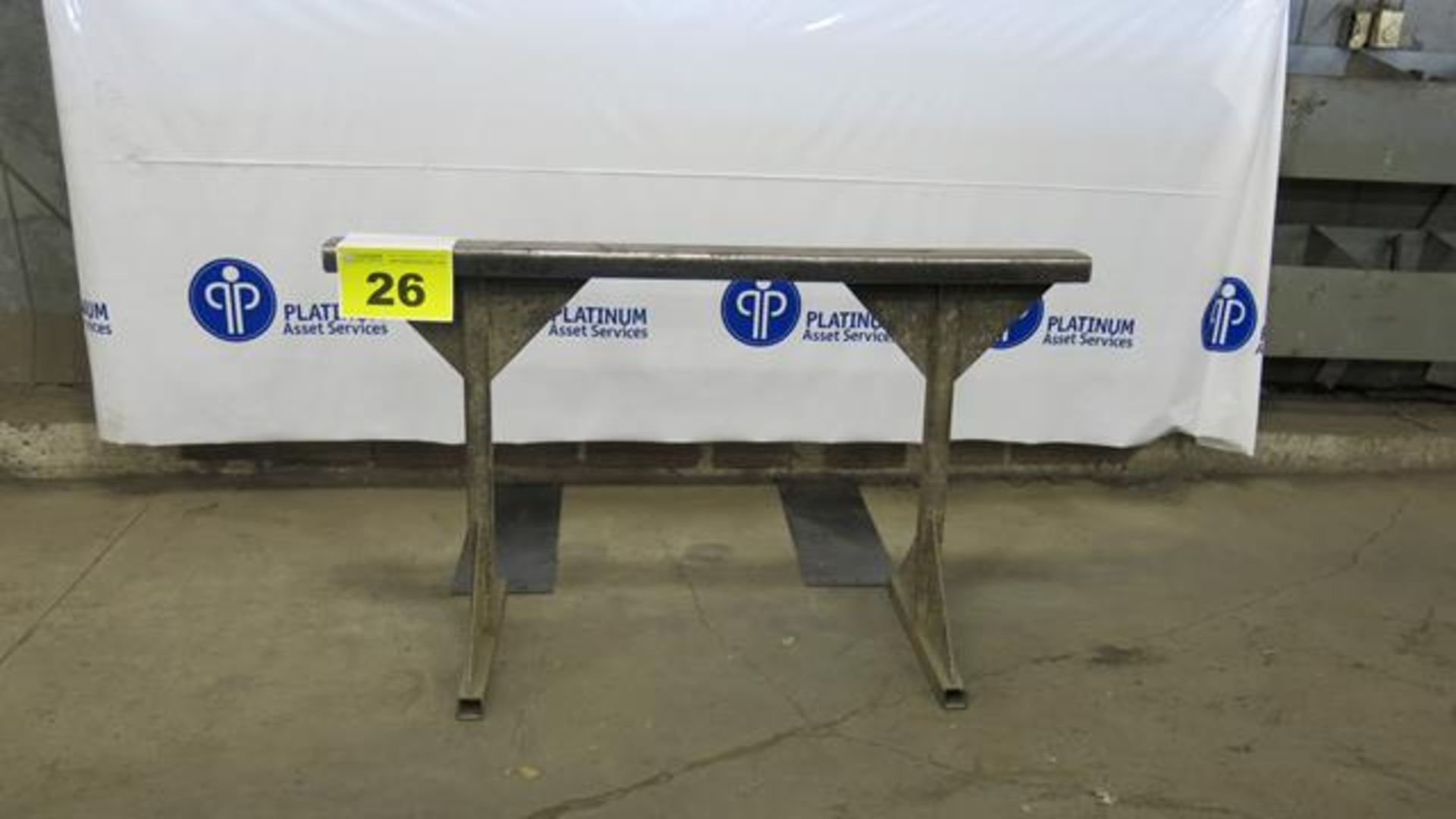 "Lot 26 - STEEL, MATERIAL SUPPORT FRAME, 36"" X 60"""