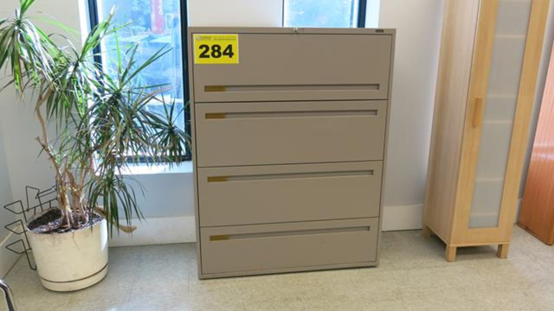 FOUR DRAWER LATERAL FILING CABINET