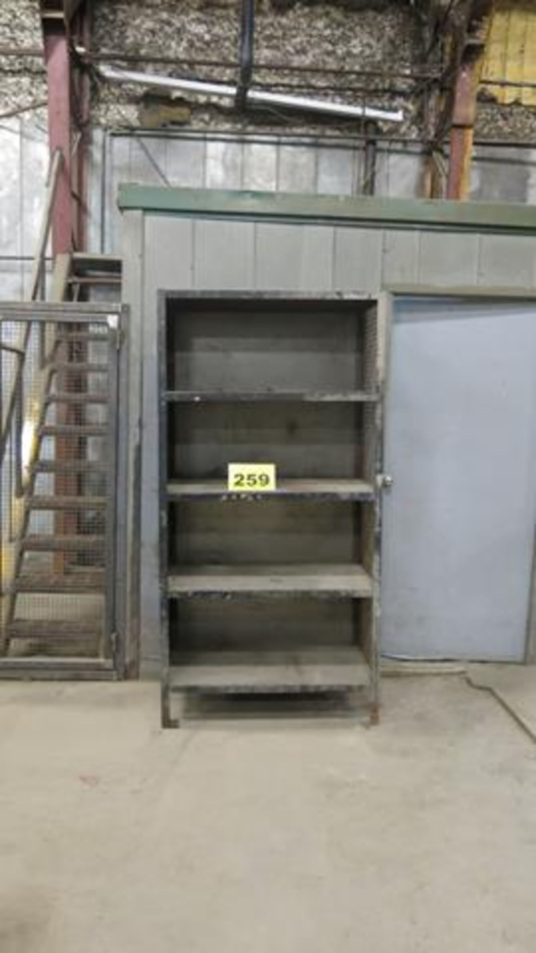 FOUR SHELF, STORAGE RACK, 6' X 2' X 4' (CONTENTS NOT INCLUDED)