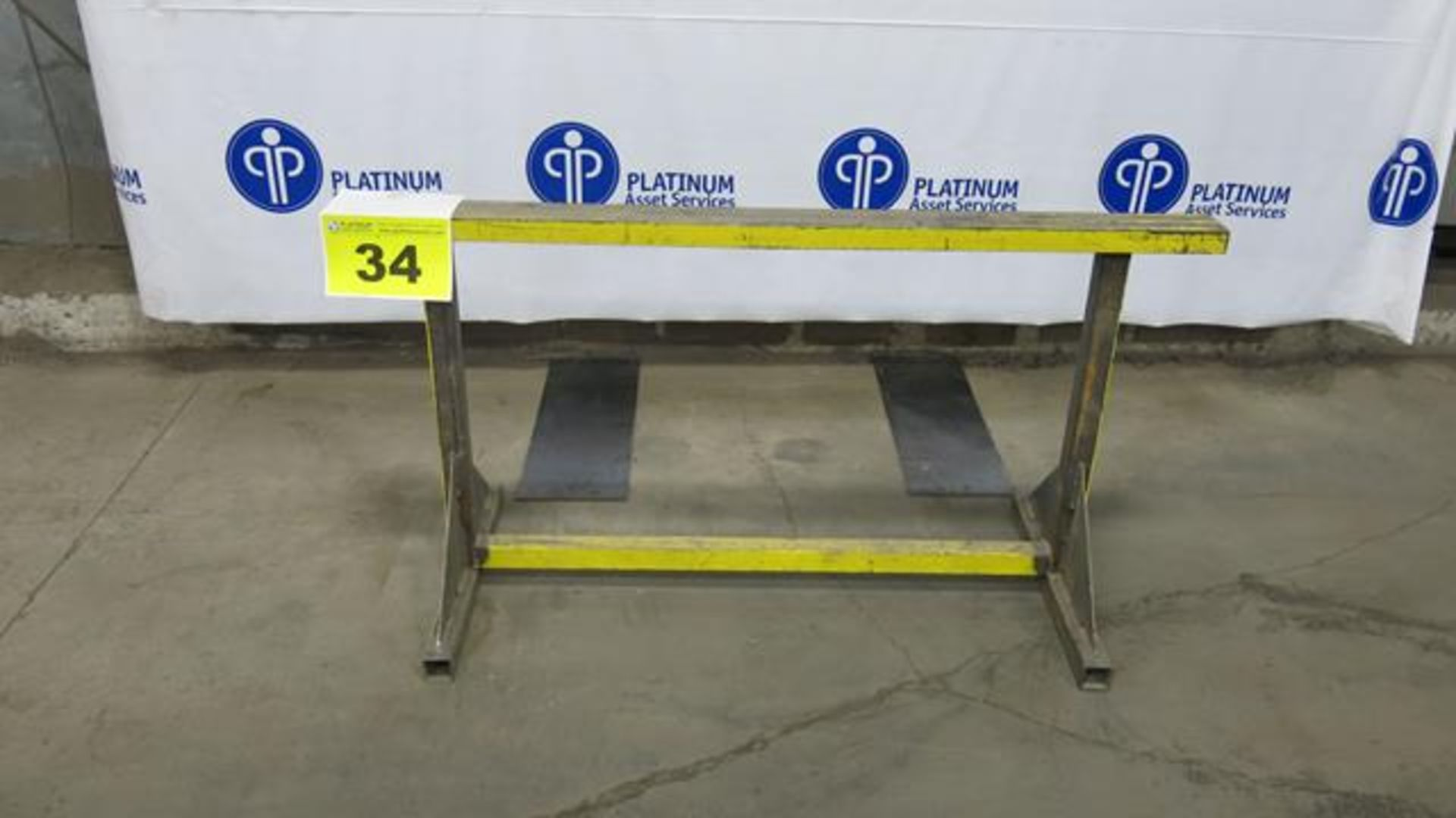 """Lot 34 - STEEL, MATERIAL SUPPORT FRAME, 30"""" X 60"""""""
