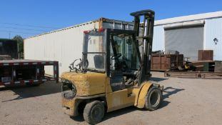 CATERPILLAR, GP30K, 6,000 LBS., LPG FORKLIFT. FORKLIFT NEEDS TRANSMISSION REPAIR. INTERMITTENTLY