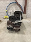 LOT OF (9) 3 1/2', FOUNDATION AIR BARRIER ROLLS